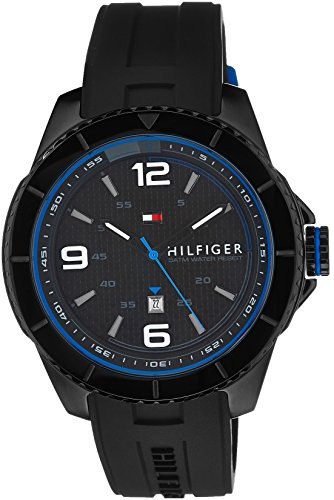 Tommy Hilfiger Analog Black Dial Men's Watch - TH1791017J