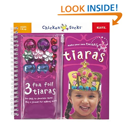 Chicken Socks Make Your Own Tiaras Activity Book