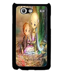 ColourCraft Lovely Art Design Back Case Cover for SAMSUNG GALAXY S ADVANCE I9070
