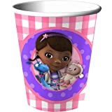Disney Doc McStuffins 9 oz Cups - 8 Pack