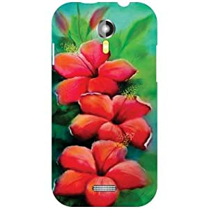 Micromax A117 Canvas Magnus Back Cover - Red Designer Cases