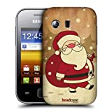 Head Case Designs Santa Claus Christmas Classics Protective Snap-on Hard Back Case Cover for Samsung Galaxy Y S5360
