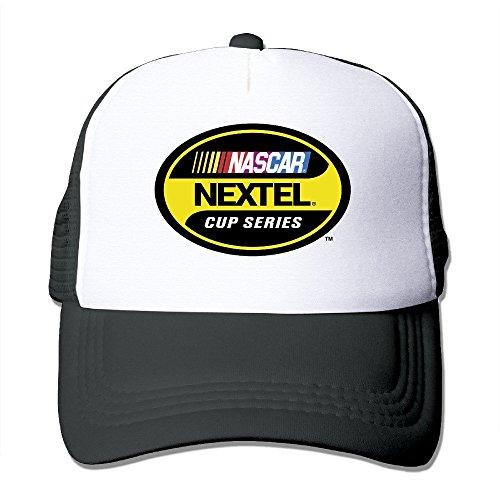 custom-streetwear-nascar-nextel-cup-series-unisex-half-mesh-adjustable-baseball-cap-hat-snapback-bla