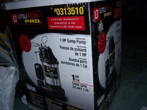 Buy Special Tools Amp Hardware Utilitech Pro 1hp Sump Pump