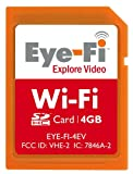51 YlMXY2KL. SL160  Eye Fi 4 GB Explore Video SDHC Wireless Flash Memory Card EYE FI 4EV