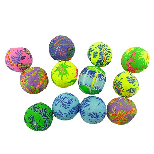 Adorox Water Bomb Splash Balls - Pool/Beach Games Fun Activities (Assorted (12 Bombs)) - 1