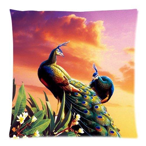 Peacock Print Bedding Set front-130344