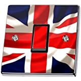 Union Jack UK British Flag Light Switch Sticker Cover Skin