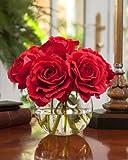 Silk Rose Nosegay - Red