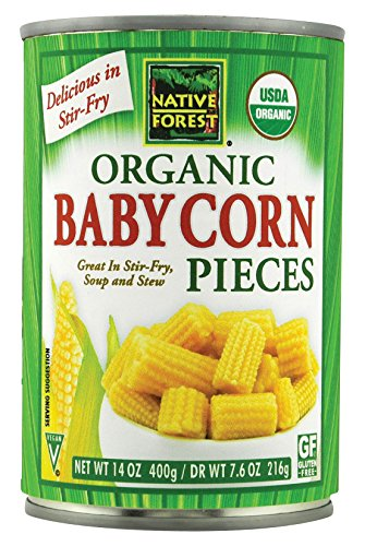 Native Forest Organic Cut Baby Corn, 14-Ounce Cans (Pack of 6) (Canned Baby Food compare prices)