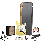 Sawtooth Electric Guitar w/ 3-Ply Pickguard - Includes: Accessories, Amp, Hard Case & Online Lesson