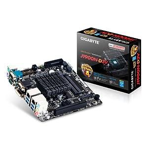 GIGABYTE マザーボード Intel Bay Trail Celeron J1900搭載 Mini ITX GA-J1900N-D3V