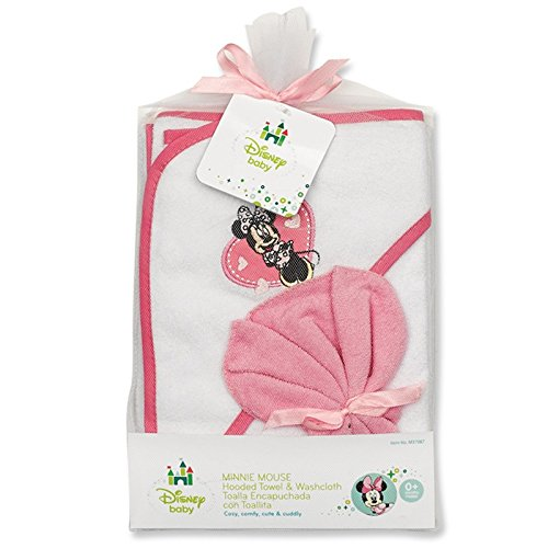 Minnie Mouse Hooded Towel Gift Set - 1