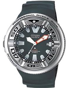 Citizen BJ8044-01E - Reloj analógico de cuarzo para hombre, correa de poliuretano color negro
