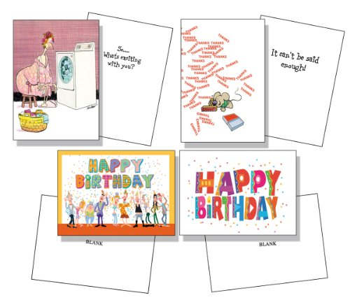 Assorted Birthday Get Well Baby Anniversary Thank You Friendship Graduation Cards 12 Cards 13 Envelopes