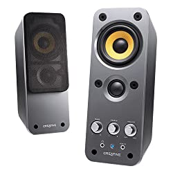 Creative Labs GigaWorks T20 2.0 Multimedia Speaker System with BasXPort Technology B-STOCK