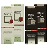 Atrimed Denz & Darc Hair Oil & Scurfol Anti-dandruff Shampoo, Pack Of 4