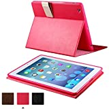 KEVENZ Smart Covers and Soft Back Case For Apple iPad 2/iPad 3/iPad 4 Case Cover - Rose Pink - K404
