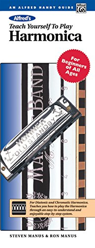 Alfred's Teach Yourself to Play Harmonica: For Beginners of All Ages, Comb Bound Book & Harmonica (Teach Yourself Se