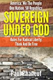 img - for Sovereign Under God: America: We The People, One Nation, Fifty Republics, Rules For Radical Liberty, Think And Be Free (Volume 1) book / textbook / text book