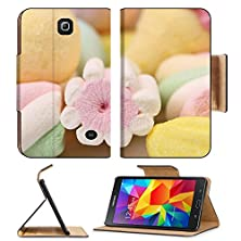 buy Msd Premium Samsung Galaxy Tab 4 7.0 Inch Flip Pu Leather Wallet Case Different Colorful Marshmallow Close Up Whole Background Image Id 24662209