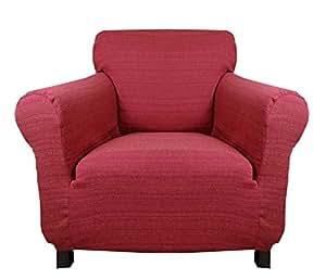 stretchhusse hussen f r sessel 1 sitzer wine. Black Bedroom Furniture Sets. Home Design Ideas