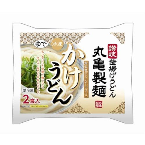 580g frozen udon 2 servings over Jay Auger Marugame over noodles...