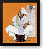 Thanksgiving Day Blues 21x22 Framed Art Print by Rockwell, Norman