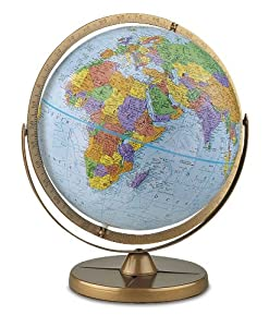Political Globe w Gyro-Matic Mounting