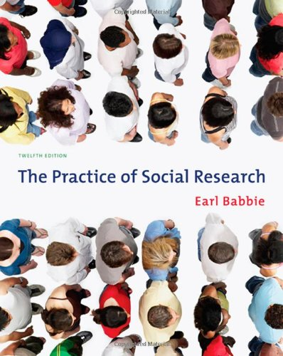The Practice of Social Research (Available Titles...