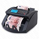 Geldzählmaschine Geldzähler Geldscheinzähler SR-3750 LCD UV