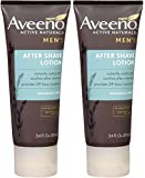 Aveeno Men's After Shave Lotion - 3.4 oz (Pack of 2)