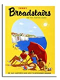 Sunny Broadstairs Kent Travel Poster Print - Approx 40 x 30 cms (15.5 x 11.5 Inches)