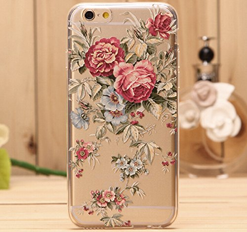 Plastic Case Cover for Iphone 6 4.7 inch Henna Floral Paisley Mandala