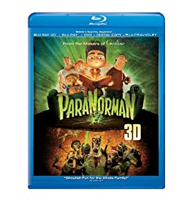ParaNorman (Blu-ray 3D + Blu-ray + DVD + Digital Copy + UltraViolet) from Focus Features