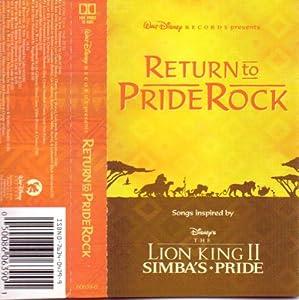 Lion King II - Lion King:Return to Pride Rock - Amazon.com ...