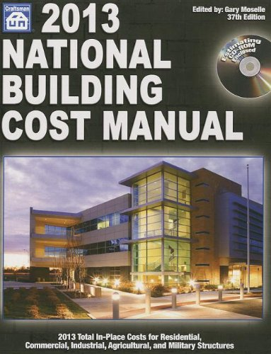 2013 National Building Cost Manual - Craftsman Book Co - 1572182784 - ISBN: 1572182784 - ISBN-13: 9781572182783