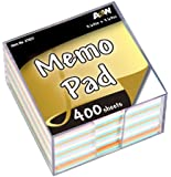 A&W Products Memo Cube, 3 1/2 x 3 1/2-Inch (27931)
