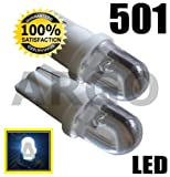 501 1 LED XENON WHITE 501 T10 W5W 194 SIDELIGHT BULBS VOLKSWAGEN VW LUPO GTI TDI