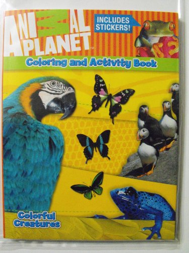 Animal Planet Coloring & Activity Book 144Pg With Stickers. front-855399