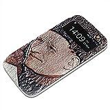 Bosch - The Cross For Christ Detail 1, Texture S-View Flip PU Custodia Protectiva in Pelle Case Cover Nero con...