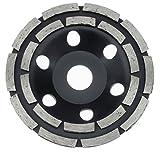 Premium Diamant Schleiftopf Schleifteller Topfschleifer Ø 125 mm Beton Granit
