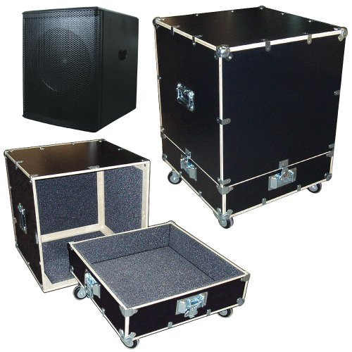 "Speaker Subwoofer Super Duty 1/2"" Ply Road Case Kit - Interior Dimensions 23"" X 23"" X 28"" High"