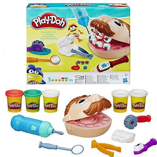 Play-Doh Doctor Drill-n-Fill Set by Play-Doh