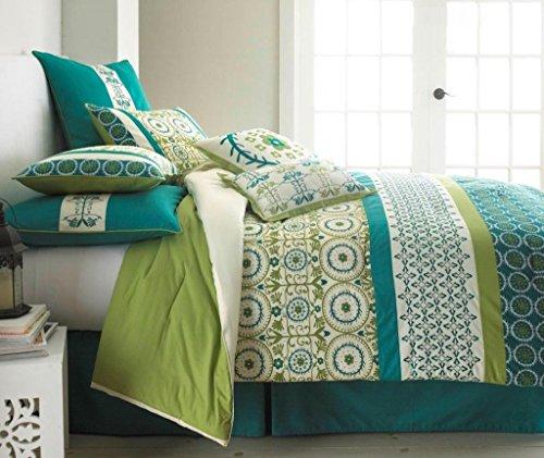 Arden 8-Piece Comforter Set King Jade front-716031