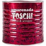 Amarena Black Cherries in Syrup by Toschi - 1 kg (2.2 pound)