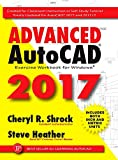 img - for Advanced AutoCAD 2017: Exercise Workbook book / textbook / text book