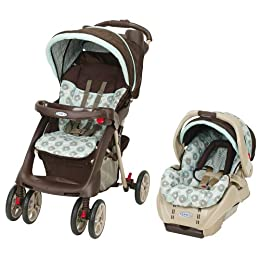 graco travel system 99 at target natural thrifty. Black Bedroom Furniture Sets. Home Design Ideas
