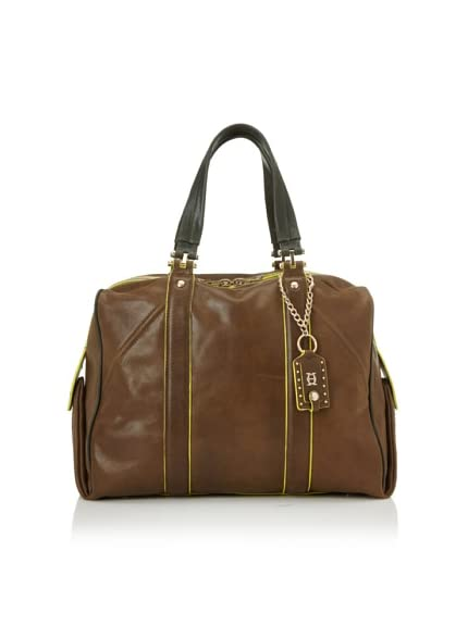 Olivia Harris Women's Heavy Stitch Large Satchel