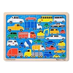 Melissa & Doug Beep Beep Jigsaw Puzzle - 24 - Piece
